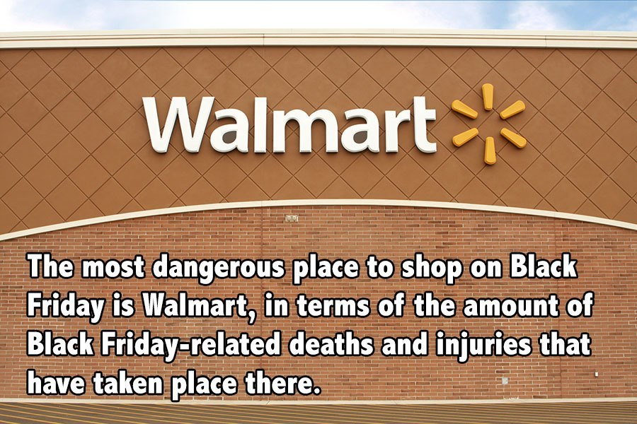 Black Friday Facts Dangerous Walmart
