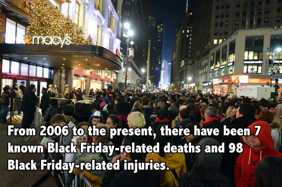 Black Friday Facts Deaths