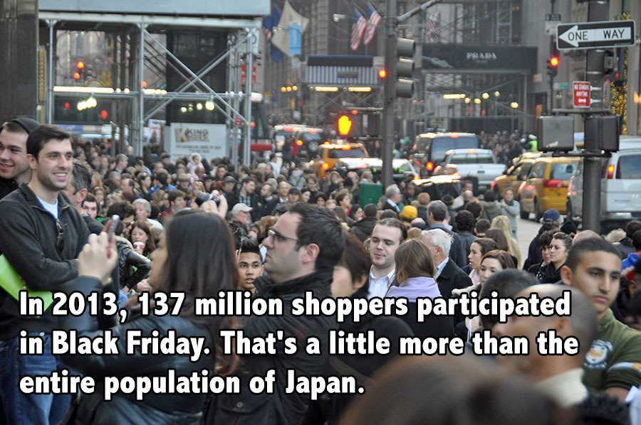Black Friday Facts Japan