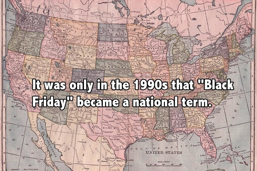 Black Friday Facts National Term