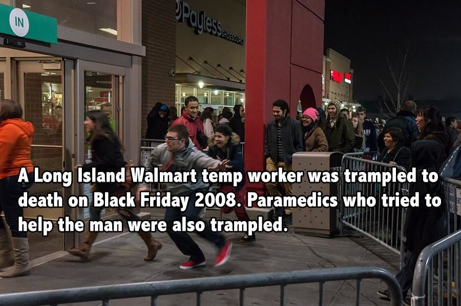 Black Friday Facts Trampled