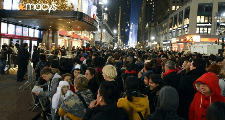 Black Friday at Macy's