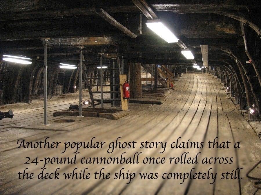 Cannon Gun Deck Story