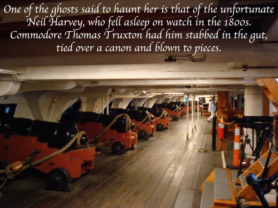 Cannon Room Haunting In The USS Constitution