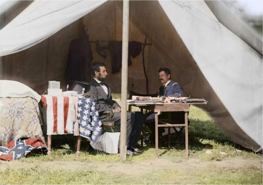 Civil War In Color Lincoln