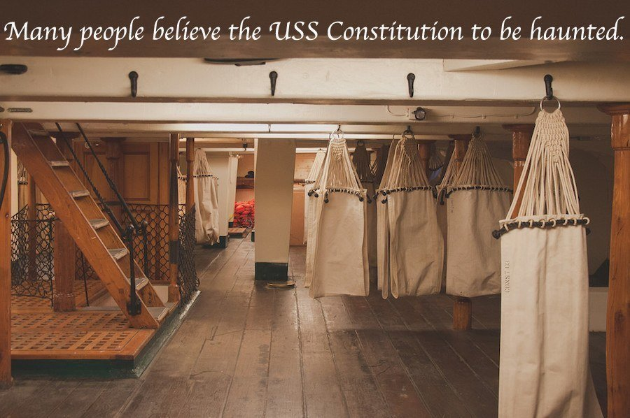 Constitution Hammocks Haunted