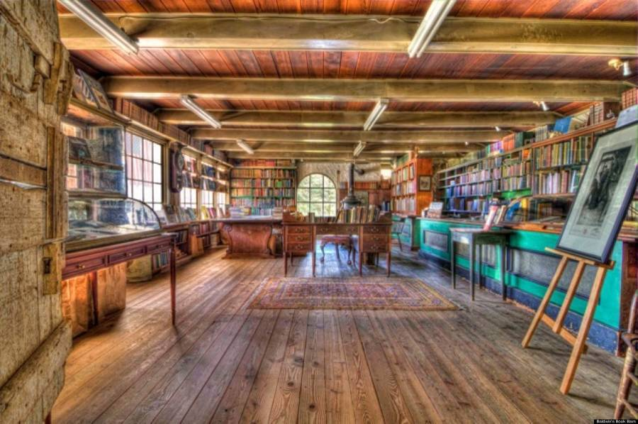 Coolest Bookstores Book Barn Colorful