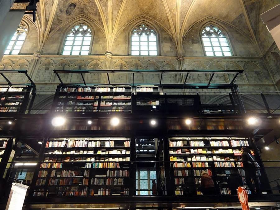 Coolest Bookstores Dominicanen Selexyz Ceiling
