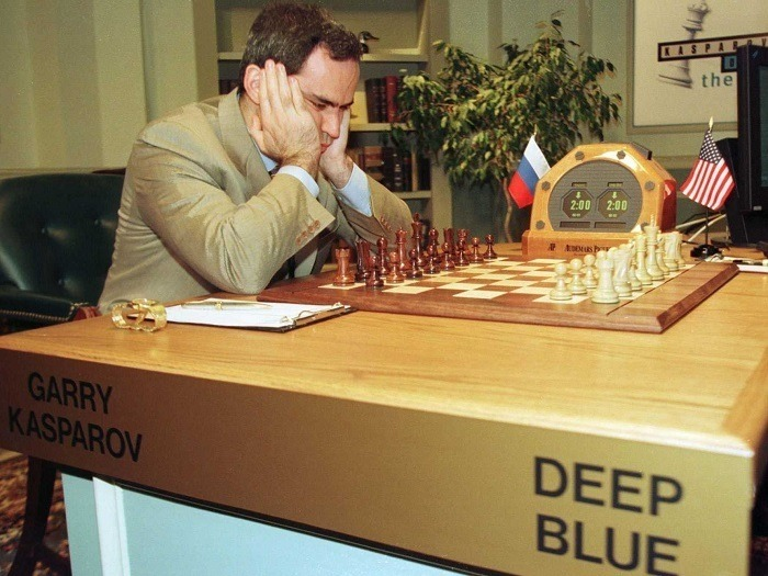 Deep Blue Chess Match