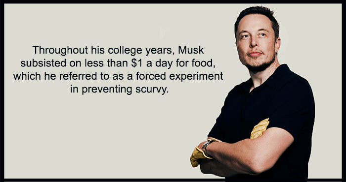 Elon Musk Facts In College
