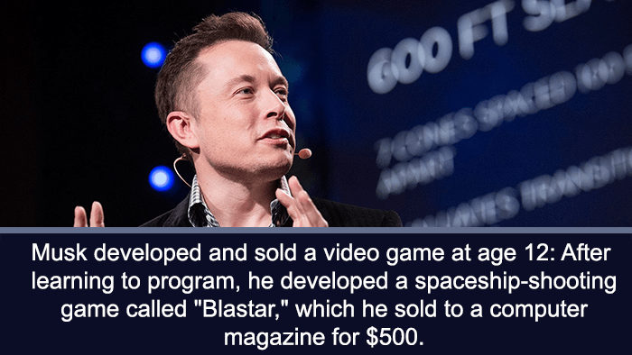Elon Musk Video Game Programming