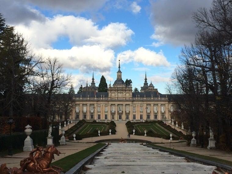 Fall Granja Palace View
