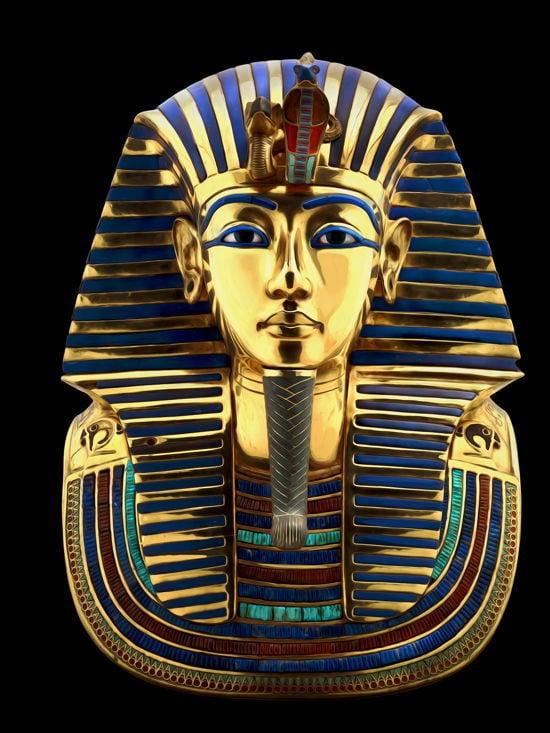 Golden Mask King Tut Famous Incest
