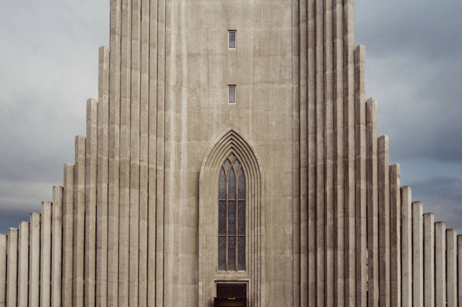 Hallgrimskirkja Iceland Church Windows