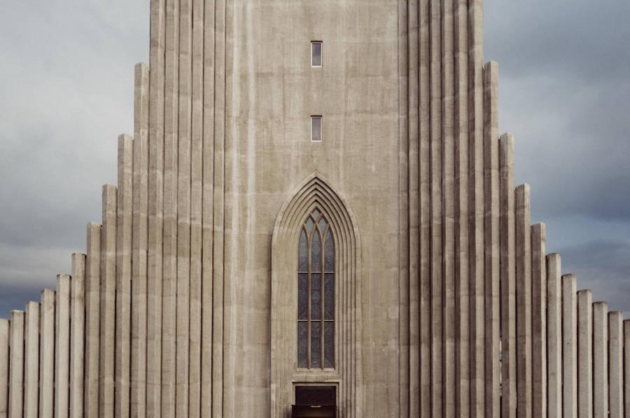 Hallgrimskirkja Iceland Church Windows