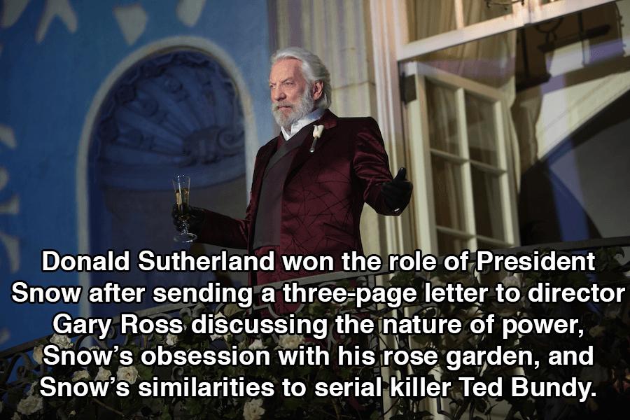 Hunger Games Donald Sutherland