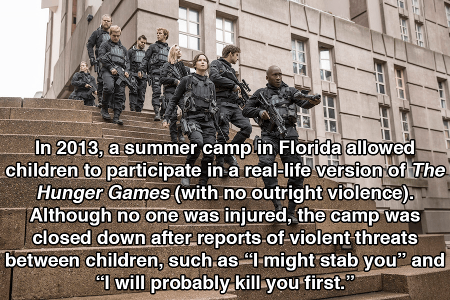 Hunger Games Facts Camps Florida