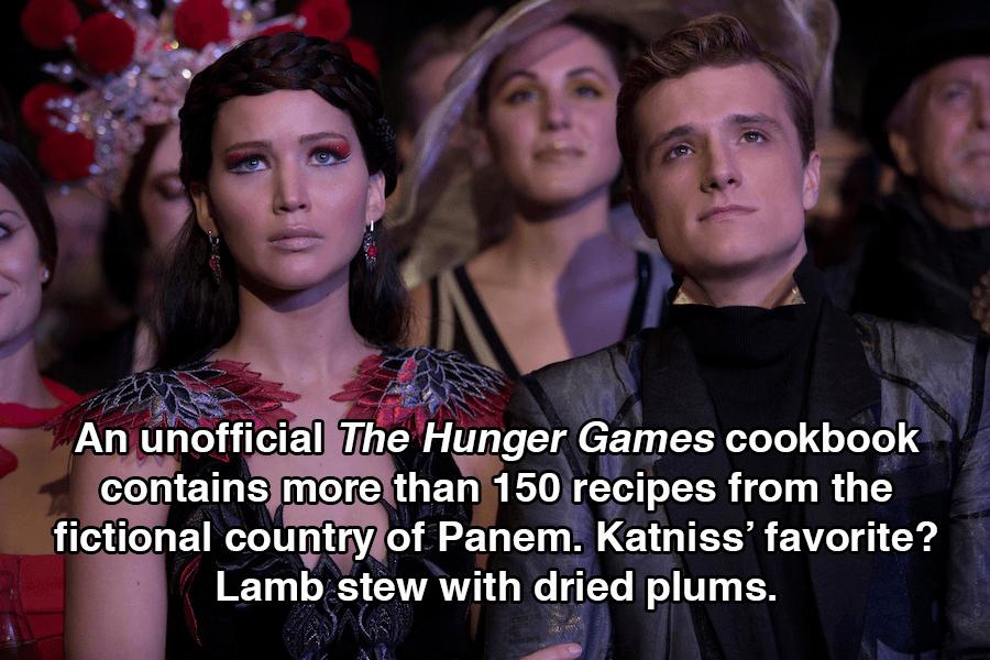 Hunger Games Facts Cookbook