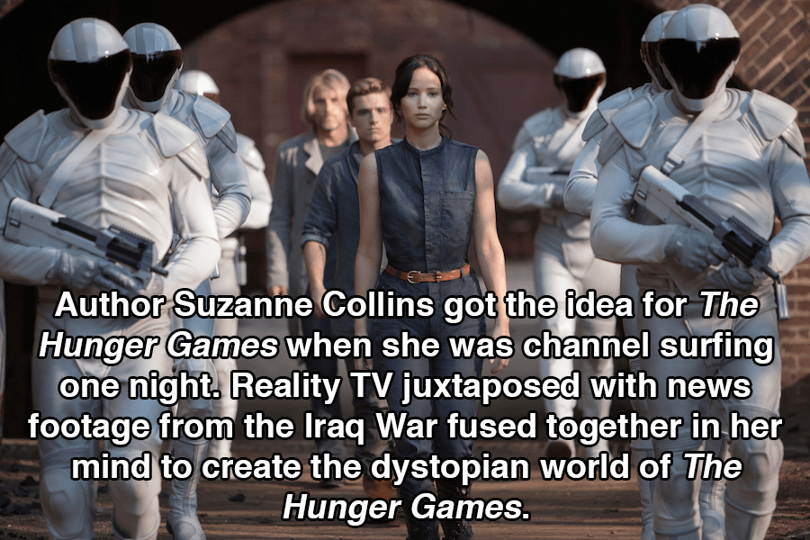Hunger Games Facts Dystopia