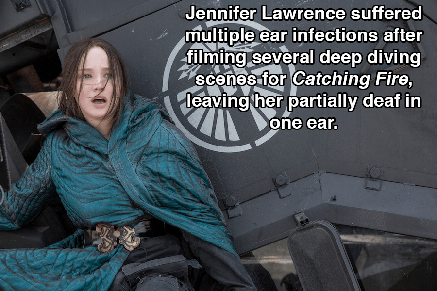 Hunger Games Facts Ear Infection