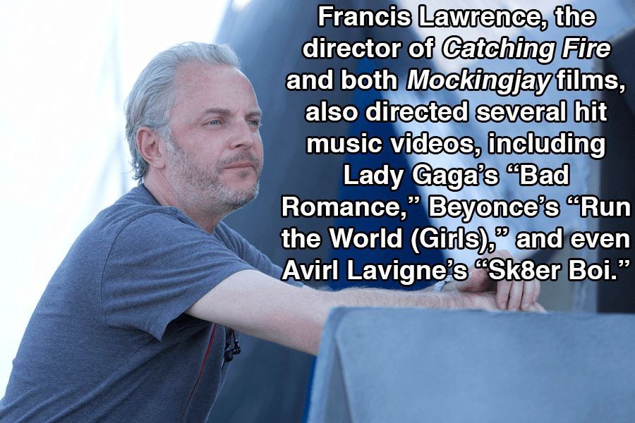 Hunger Games Facts Francis Lawrence