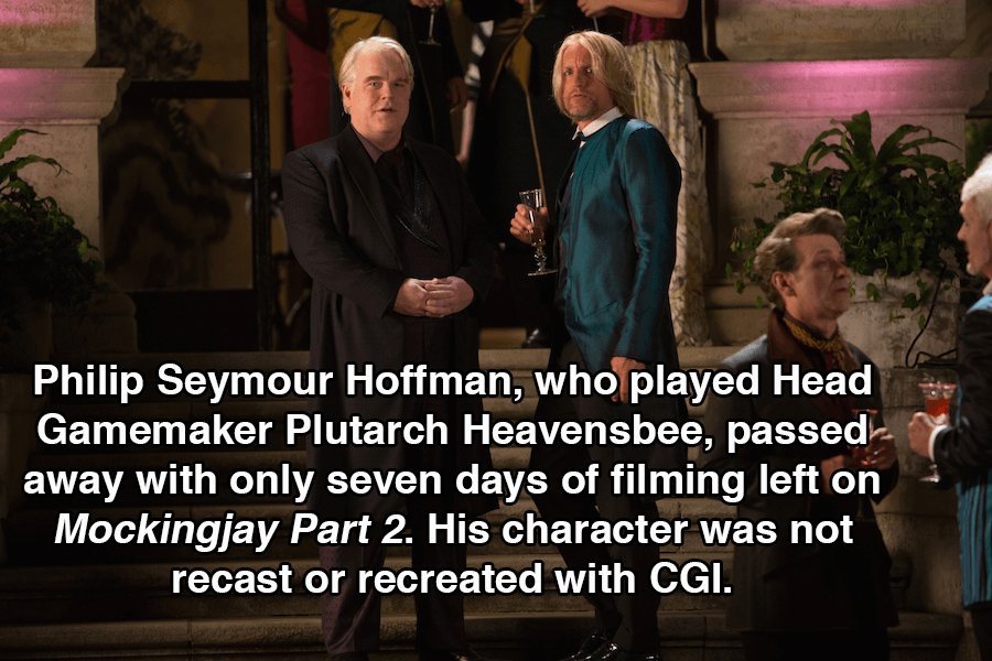 Hunger Games Facts Philip Seymour Hoffman