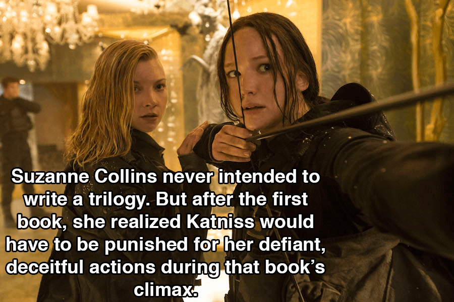Hunger Games Facts Trilogy