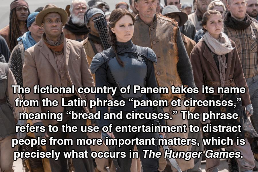 Hunger Games Panem