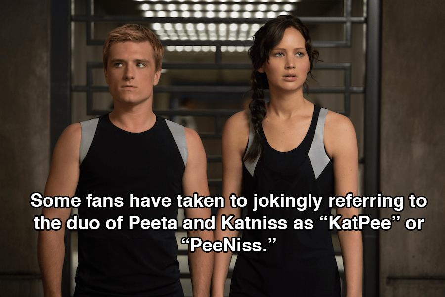 Hunger Games Peeta Katniss