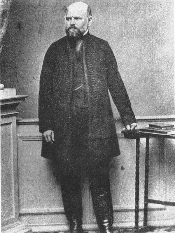 Ignaz Semmelweis In 1863