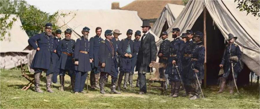 Lincoln Civil War In Color