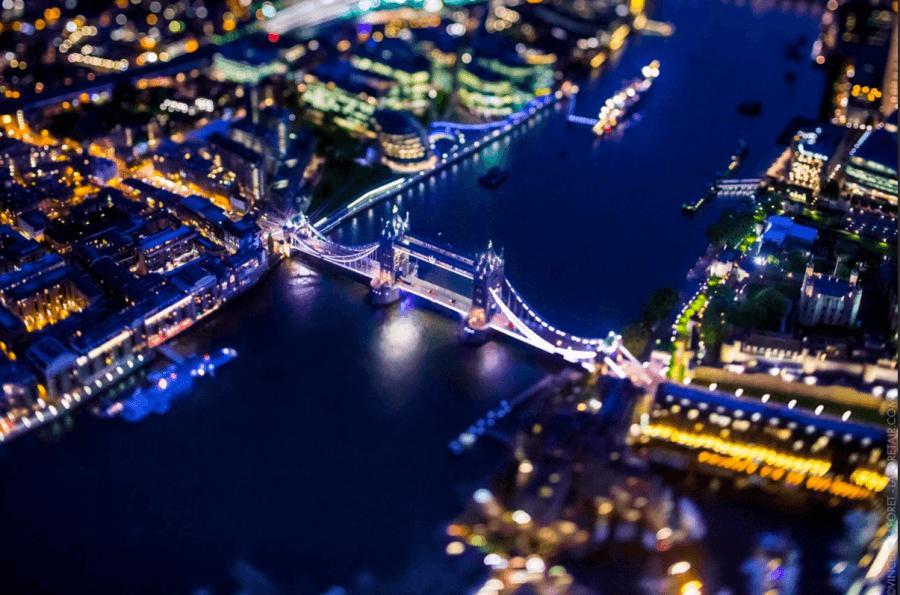 London Bridge Night Lights