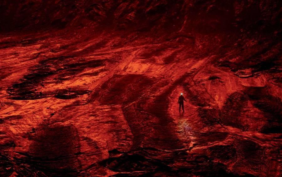 Man Inside Volcano