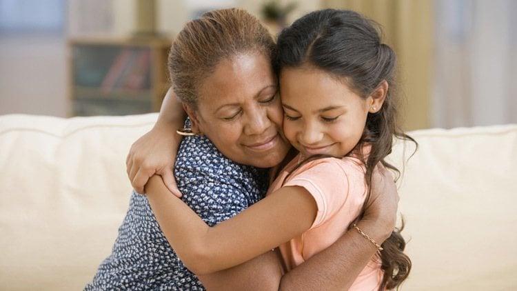 Mom Hug Why We Kiss