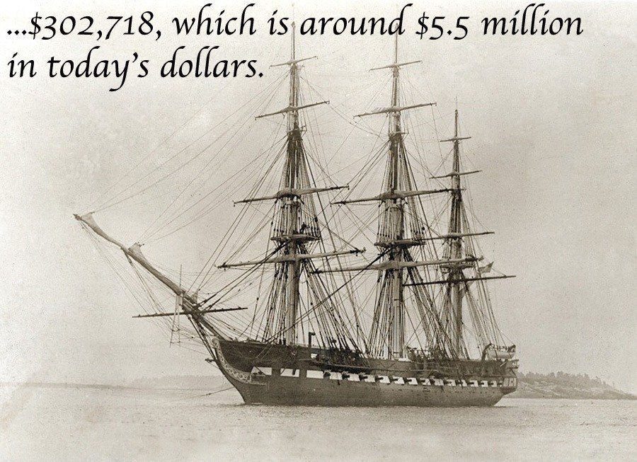 Old Ironsides Drawing Cost
