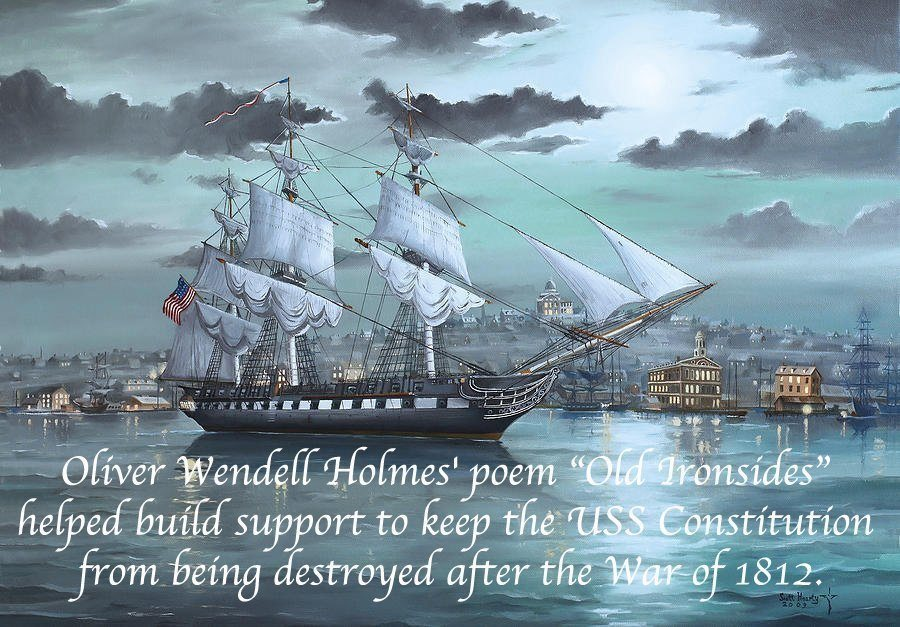 Old Ironsides Poem Fact