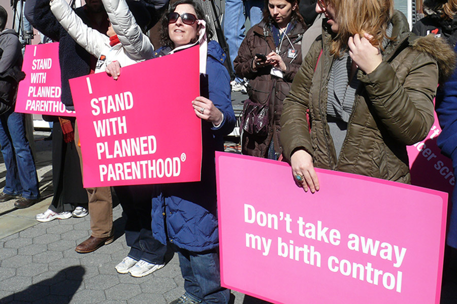 Planned Parenthood Myths Signs