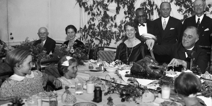 Roosevelt Thanksgiving