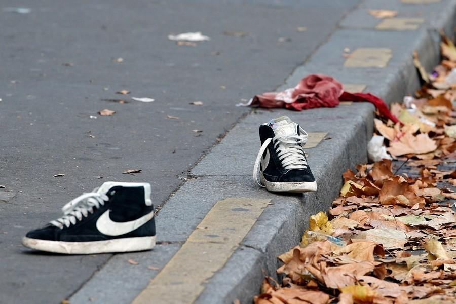 Shoes Bataclan Bloody Garment