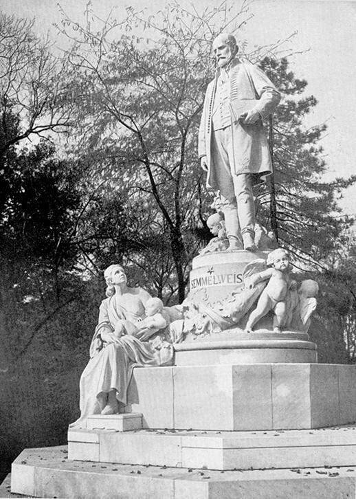Statue Of Ignaz Semmelweis