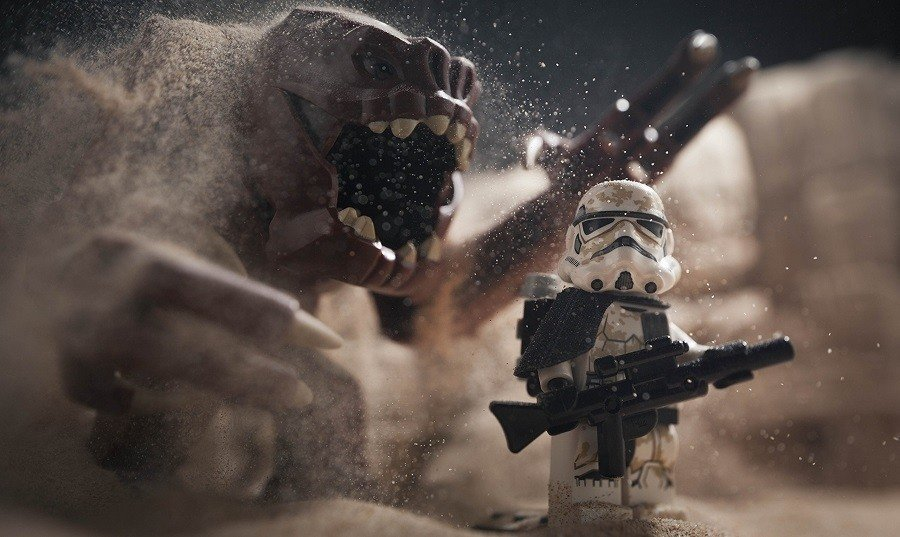 Storm Trooper Star Wars Legos