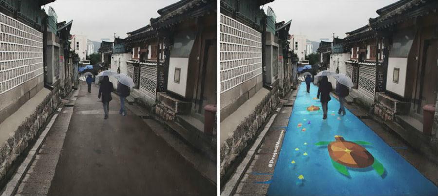 Street Murals Appear Seoul 3