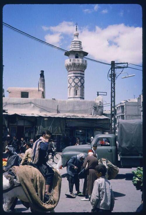 Syria 1960s Blue Sky