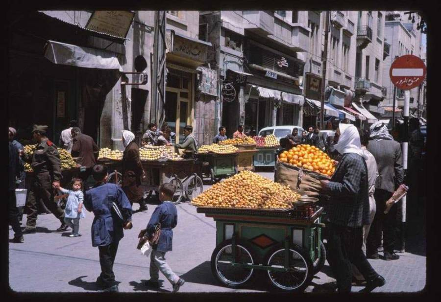 Syria 1960s Fruit Carts