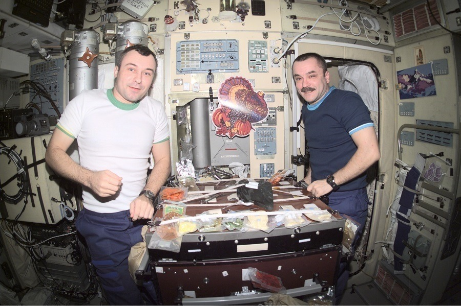 Thanksgiving On Iss