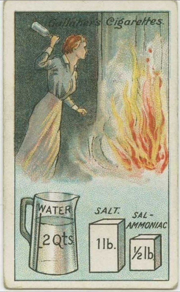 Vintage Homemade Fire Extinguisher
