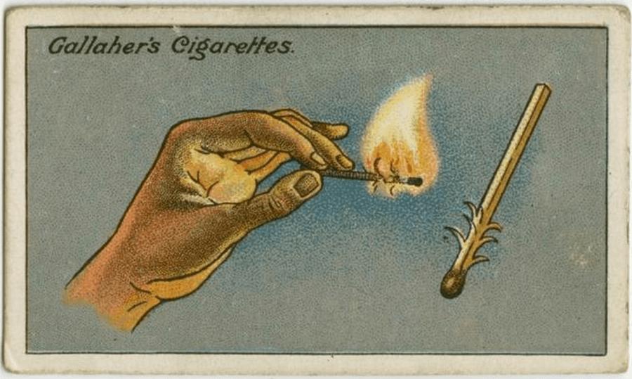 Vintage Lighting Match Wind Advice