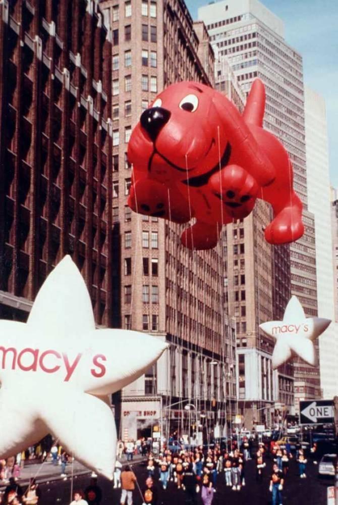 Vintage Macys Thanksgiving Day Parade Photos Clifford