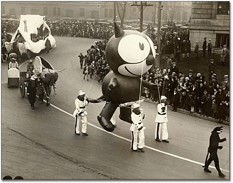 Vintage Macys Thanksgiving Day Parade Photos Felix