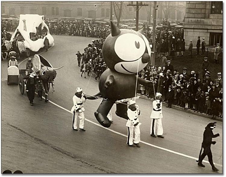 Vintage Macys Thanksgiving Day Parade Photos Felix